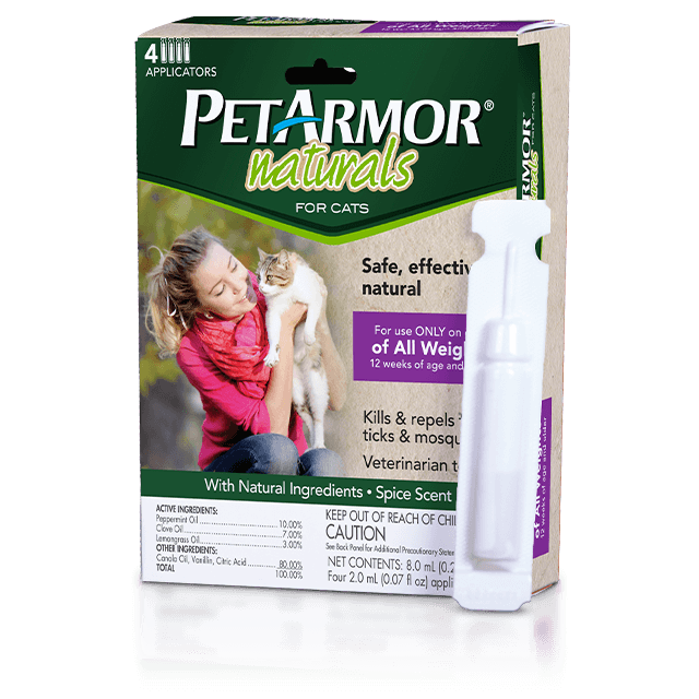 PetArmor Naturals Flea and Tick Topcial for Cats