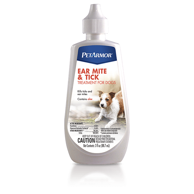 PetArmor Ear Mite and Tick Treatment for Dogs