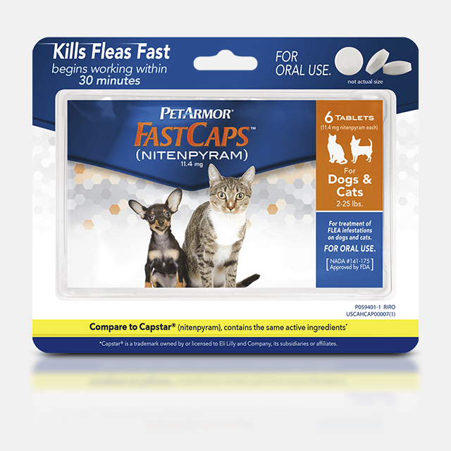 PetArmor FastCaps (Nitenpyram) for Dogs and Cats