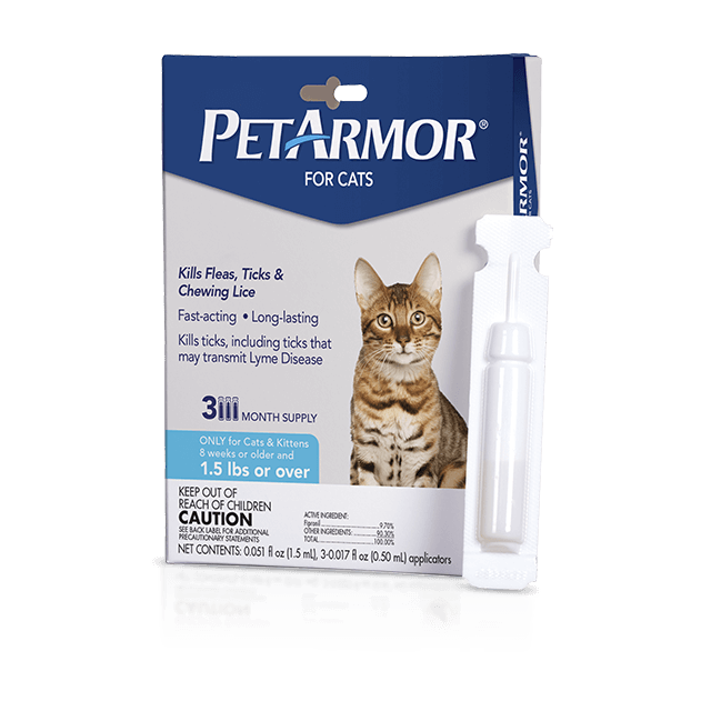 PetArmor Flea and Tick Treatment for Cats