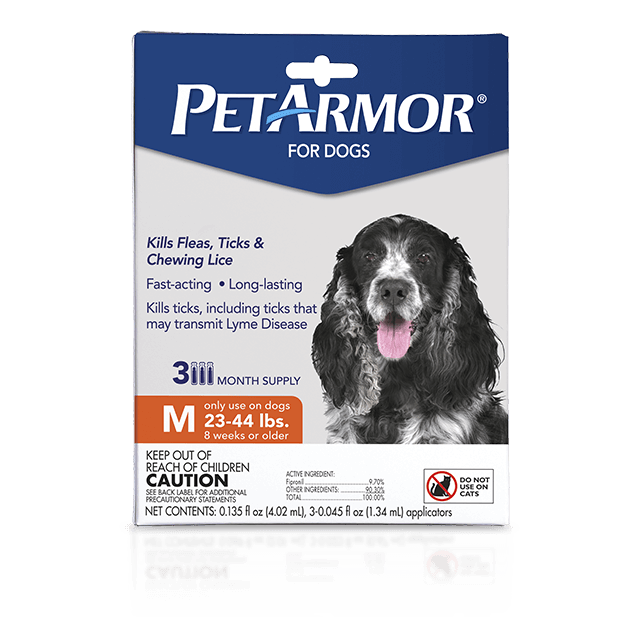 PetArmor Flea and Tick Treatment for Medium Dogs (23 to 44 Pounds)