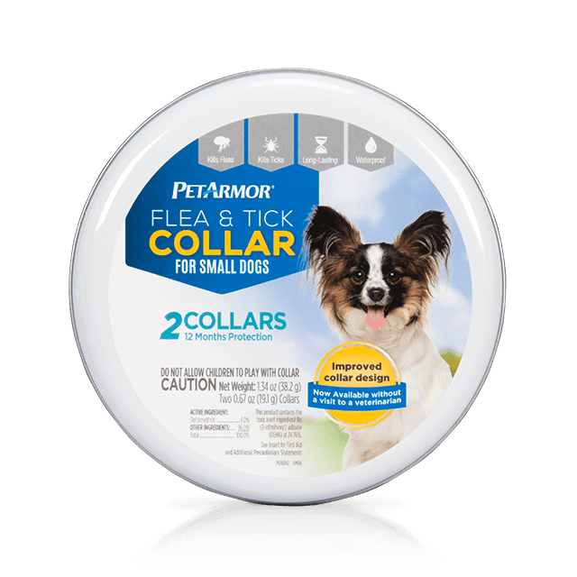 PetArmor Flea and Tick Collar for Small Dogs