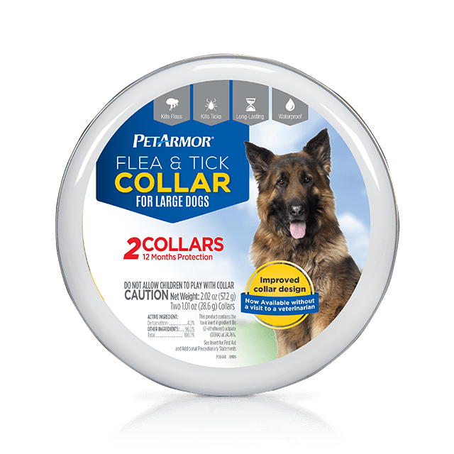 PetArmor Flea and Tick Collar for Large Dogs