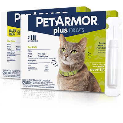 PetArmor Plus Flea and Tick Treatment for Cats