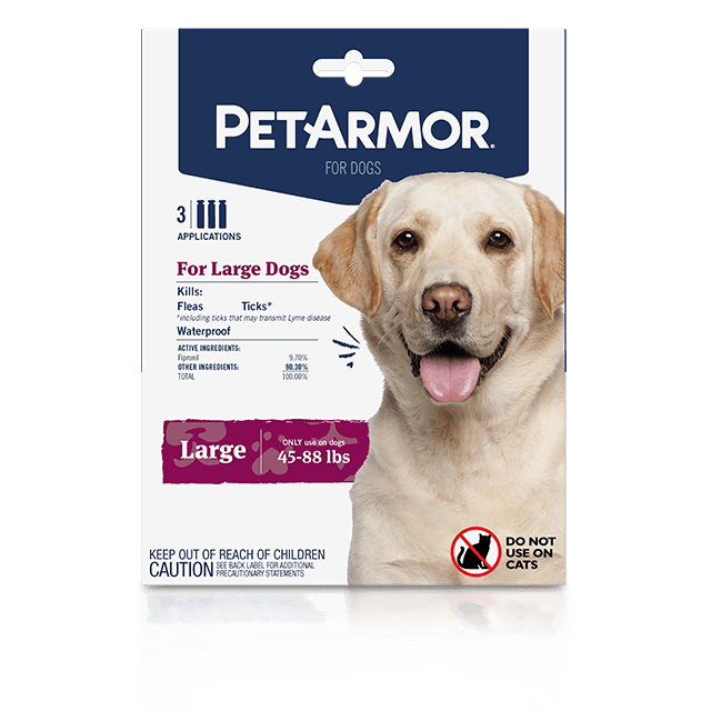 PetArmor Flea and Tick Treatment for Large Dogs (45 to 88 Pounds)