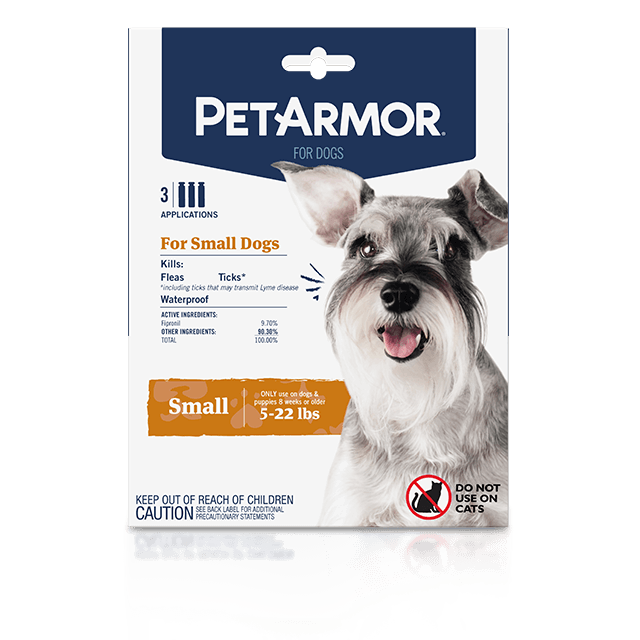 PetArmor Flea and Tick Treatment for Small Dogs (5 to 22 Pounds)