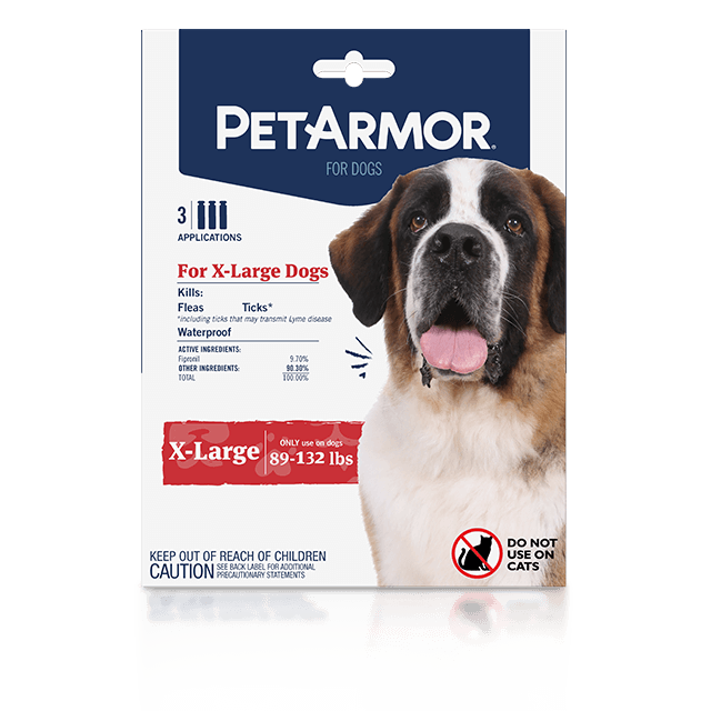 PetArmor Flea and Tick Treatment for Extra-Large Dogs (89 to 132 Pounds)