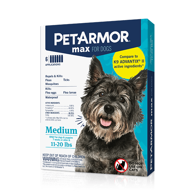PetArmor® Max for Medium Dogs