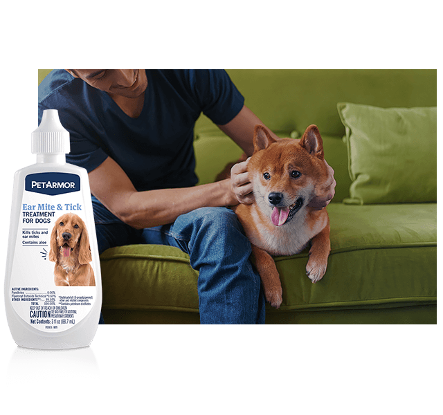 PetArmor Medicated Ear Rinse for Dogs and Cats | PetArmor